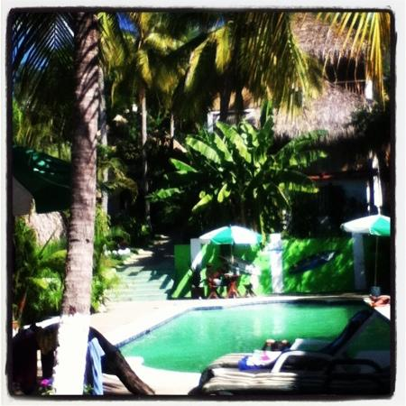 Tunco Lodge: by the pool