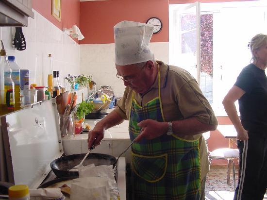 La Dolce Vita : creating dinner w/a guest chef