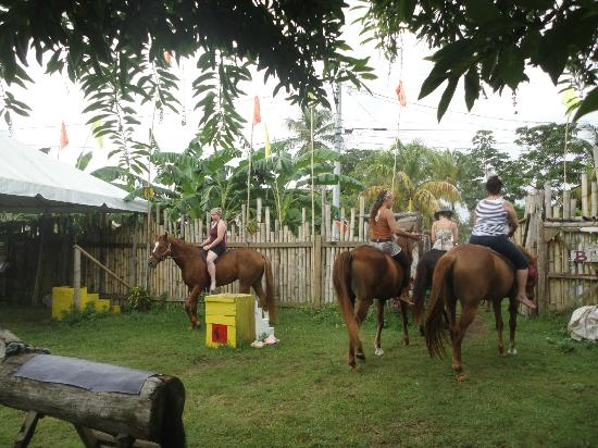 Being with Horses: All riders mounted and setting off on our journey