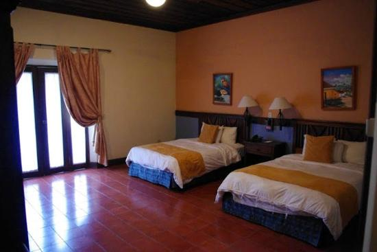 Hotel Marina Copan: The room