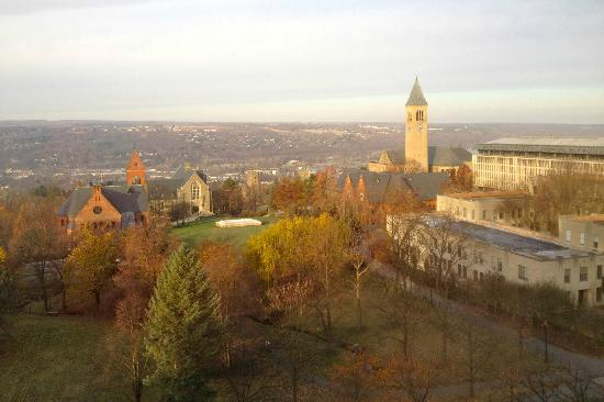 The Statler Hotel at Cornell University: View from Room 810