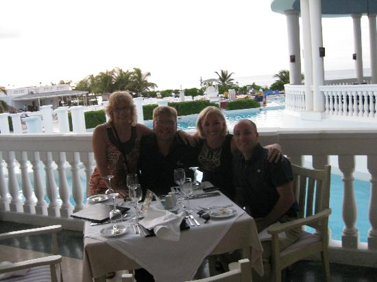 Grand Palladium Jamaica Resort & Spa: Dinner at the Italian
