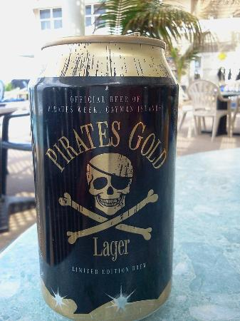Cobalt Coast Grand Cayman Resort: special libations during pirates week