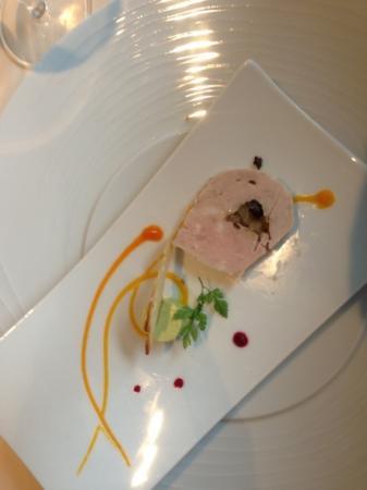 restaurant du Schild: Entrata di patè di fagiano