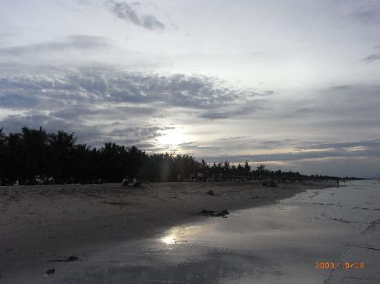 Cua Dai Beach: cau dai beach