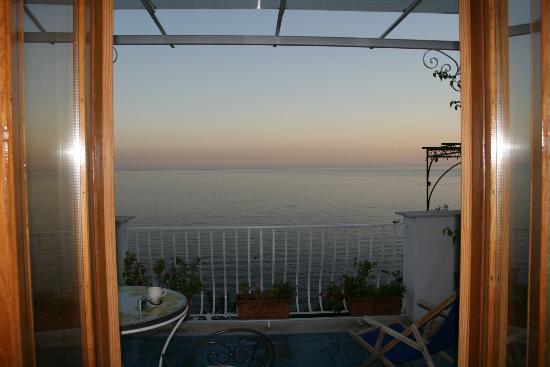 La Rosa Dei Venti: view out the balcony doors