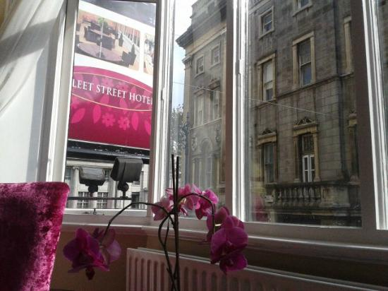 The Fleet Street Hotel: Vista desde la ventana