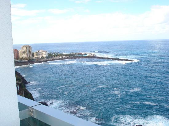 Best Semiramis: vistas desde la terraza