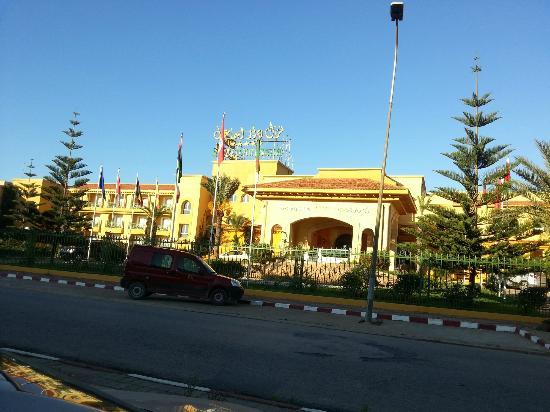 Hotel Dar Ismail : vue externe de l'hotel