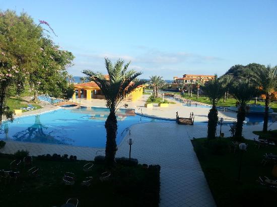 Hotel Dar Ismail : vue de la piscine