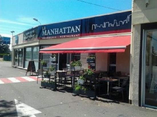 Le Manhattan : Terrasse