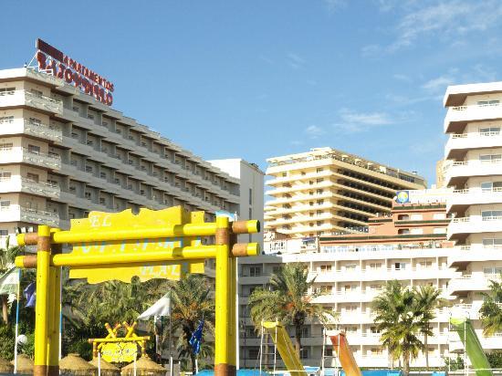 Gran Cervantes by Blue Sea: hotellet fra stranden, et niveau højere oppe