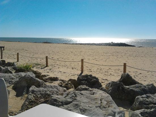 Lovely Beach view from the Rosa Branca