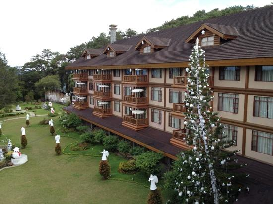 The Manor at Camp John Hay: view from the room