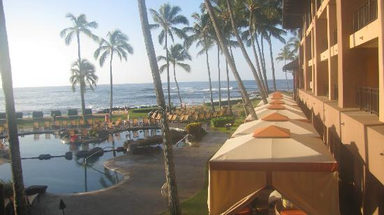 Sheraton Kauai Resort: View from the Pool Side Rooms