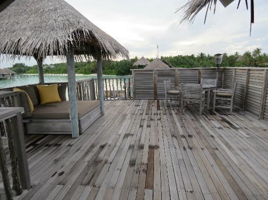Gili Lankanfushi: Upper level of Villa