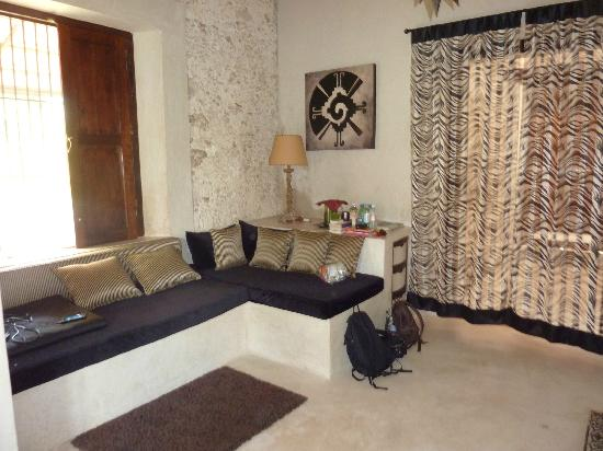 Hacienda Sacnicte: suite