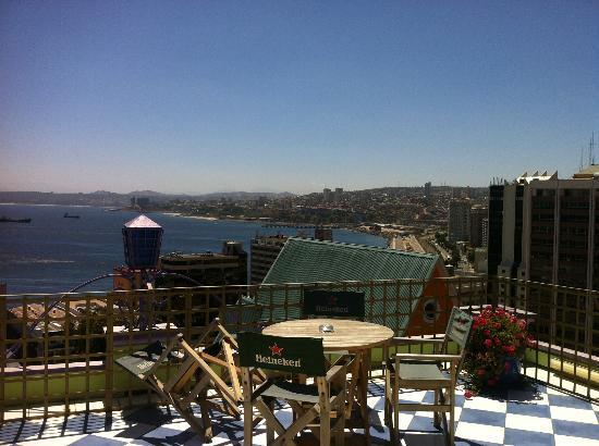 Hotel Manoir Atkinson: Vista desde el mirador del hotel