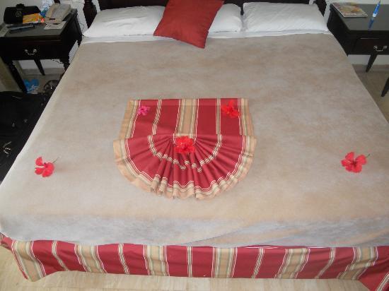 Grand Palladium Jamaica Resort & Spa: Design the Maid Left on the Bed