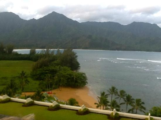 St. Regis Princeville Resort: View from Patio