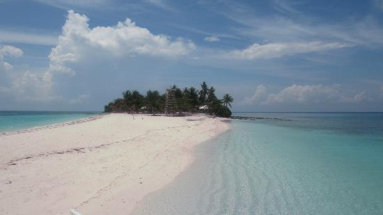 Palompon, Filippinerna: view to island