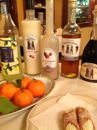 Hotel  Agostiniana: .....fine della cena......