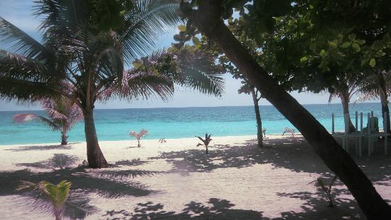 Malapascua Island, Filippinerne: view from picnic area