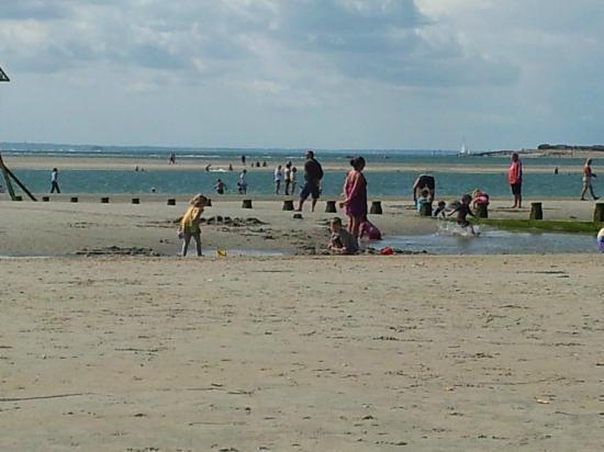 West Wittering, UK: The beach