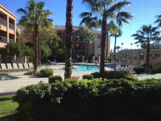 Courtyard Palm Desert: View from room 164 - pool looks great for families