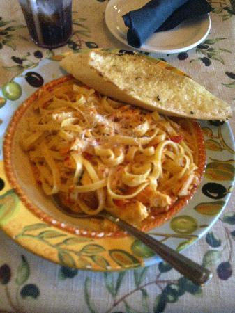 The Olive Tree : Pasta!