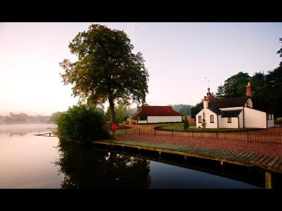 The Boat House: Early Morning, beautiful!!!