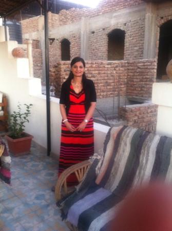 Hotel Sheherazade: on the roof top