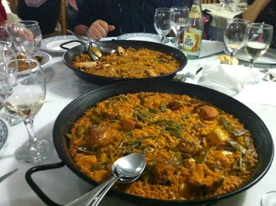 La Riua : paella valenciana