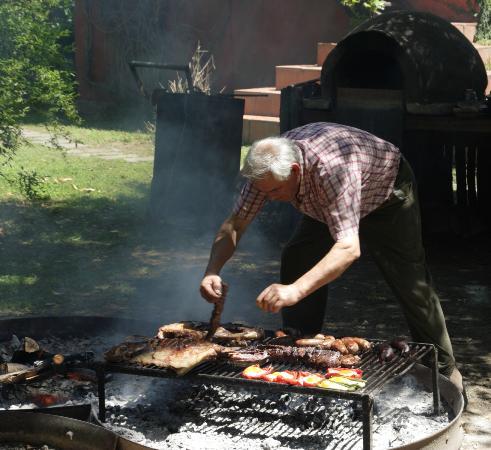 San Miguel del Monte, Argentina: lunch !