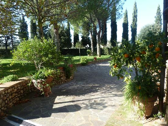 Villa Le Torri: in the villa