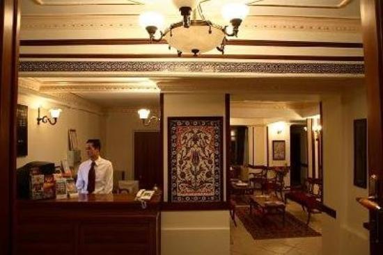 Hippodrome Hotel: Lobby / Reception