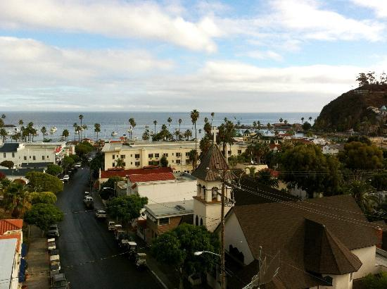 Hotel St. Lauren: View from 6th floor deck