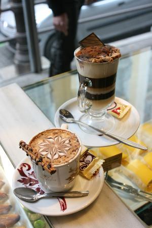 Cafe del Art: capuccino del Art y Café del Art