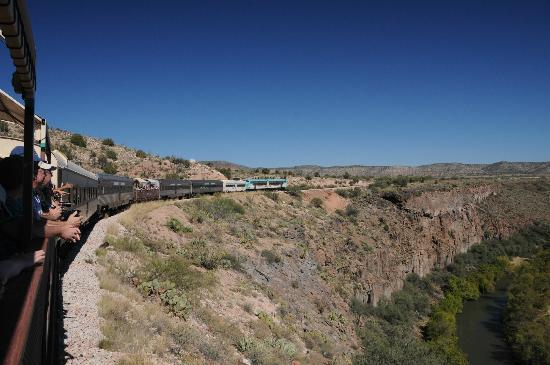 Canyon Villa Bed and Breakfast Inn of Sedona: The Verde Canyon Railroad is a must visit