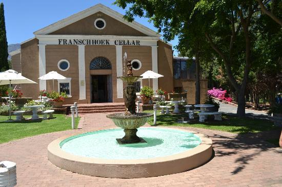 The Franschhoek Cellar: Fachada