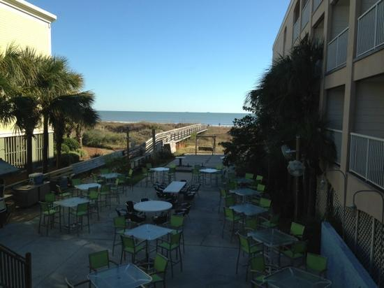Hucks Lowcountry Table: view of the ocean