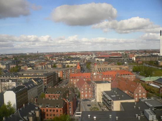 Radisson Blu Falconer Hotel & Conference Center: View from 15th floor Radisson Falconer Allee