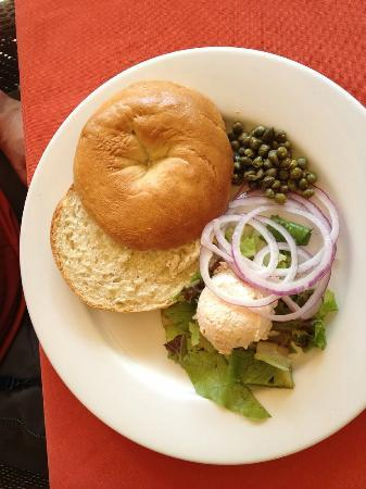 The Clubhouse at Frenchmans: Homemade bagels for breakfast