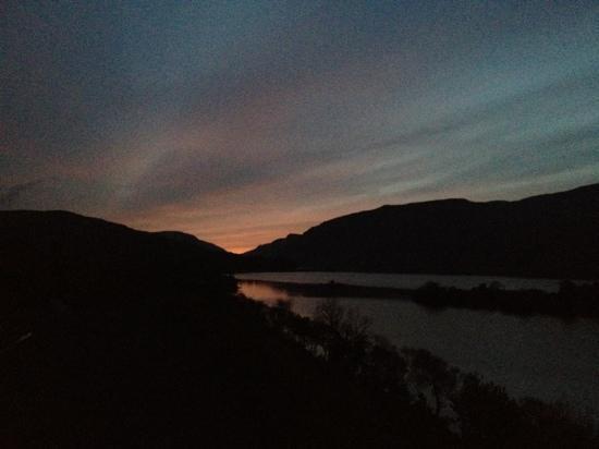 Glenveagh Castle: View @ 5.30pm