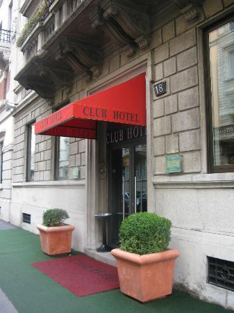 Club Hotel: Entrada