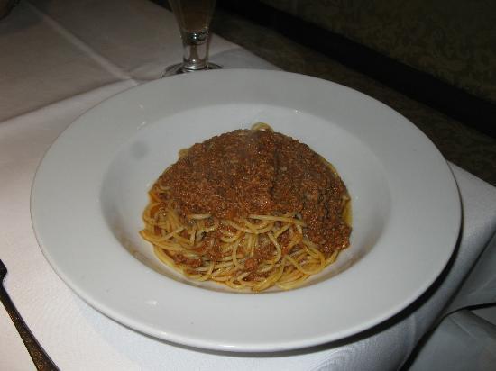 Stadthotel Erding: Spaghetti bolognese