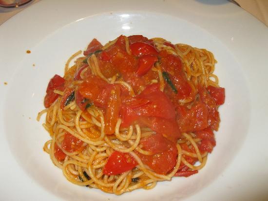Stadthotel Erding: Spaghetti pomodoro