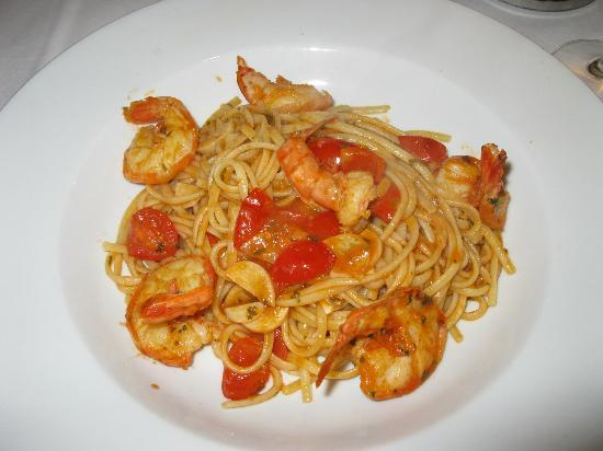 Stadthotel Erding : Spaghetti with shrimp