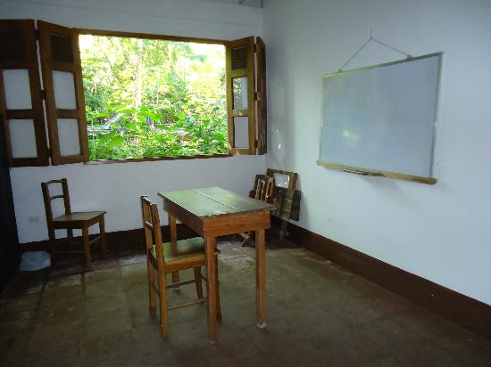 La Mariposa Spanish School and Eco Hotel: Classroom for formal grammar Spanish