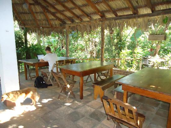 La Mariposa Spanish School and Eco Hotel: The dining area